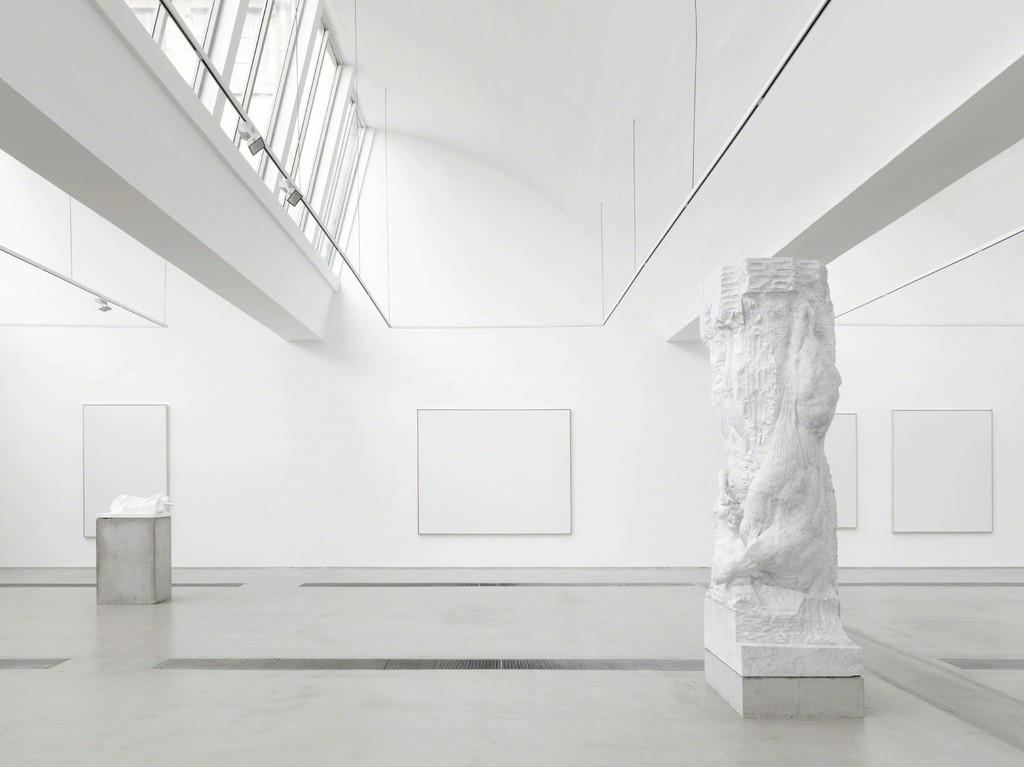 "Installation view of exhibition ""Christian Lemmerz & Norbert Tadeusz | MEAT"", Beijing 2016. Photo by Jonathan Leijonhufvud."