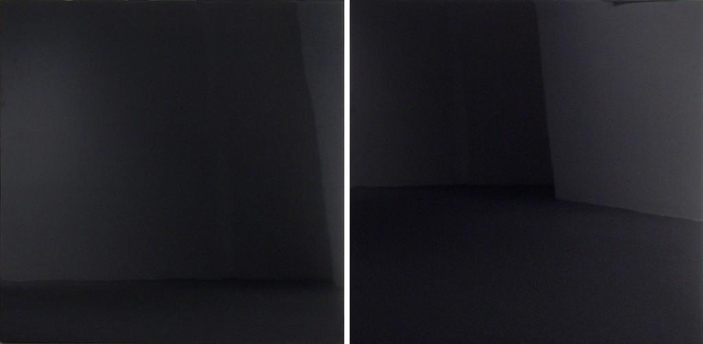 Forman Diptych 1 (Black-Black)