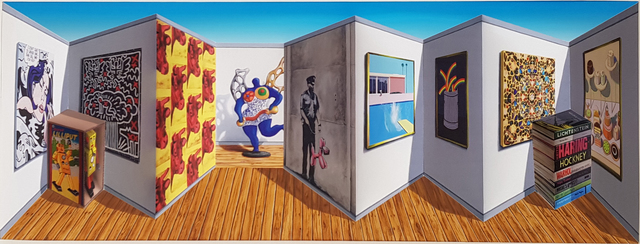 Patrick Hughes, 'Poppish', 2019, Tangent Contemporary Art