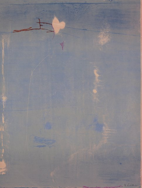 Helen Frankenthaler, 'Cameo', 1980, Print, Woodcut in colors on grey-pink TGL handmade paper, Heritage Auctions