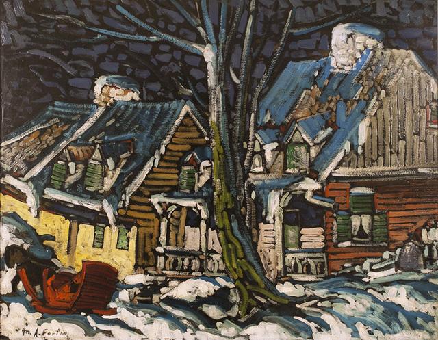 , 'Maison Camille LeClerc, Ste. Rose, Québec,' ca. 1940, Canadian Fine Arts