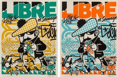 Libre et sauvage (two works)