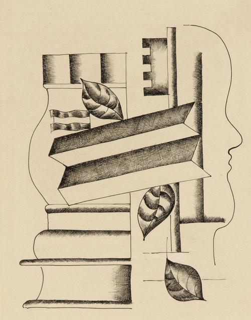, 'Profil, Vase et Clef,' 1927, Heather James Fine Art