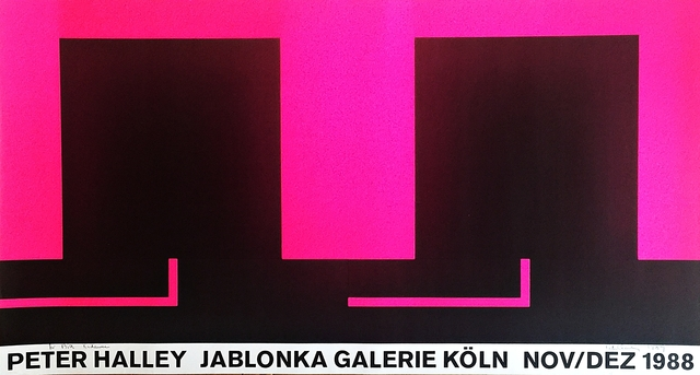, 'Peter Halley (From the collection of  artist Bill Radawec),' 1988, Alpha 137 Gallery