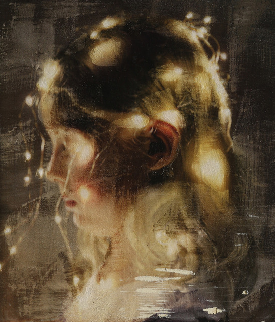 Per Fronth, 'Firefly (LED current)', Painting, Oil on MDF, Dillon + Lee