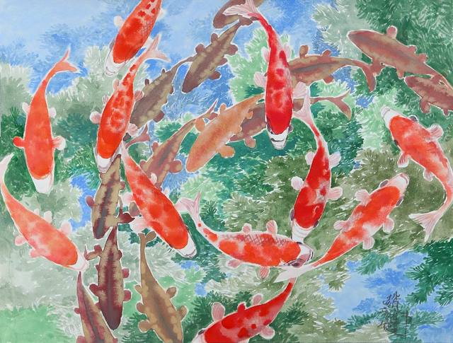 , 'Red carp,' 2010, Xia Men Challengearts Gallery