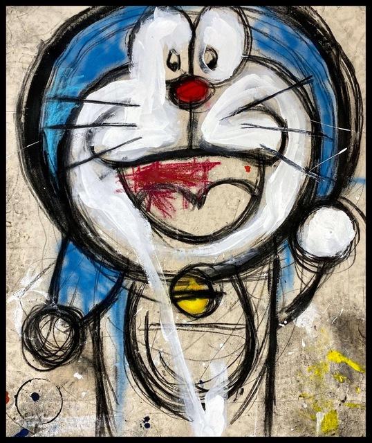 George Morton-Clark, 'Jim James', 2019, JPS art Gallery