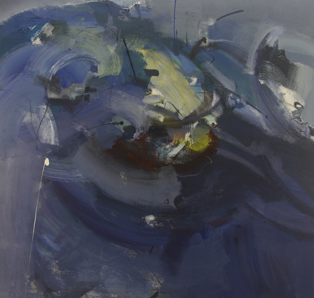 , 'September Blue,' 2013, Robert Kananaj Gallery