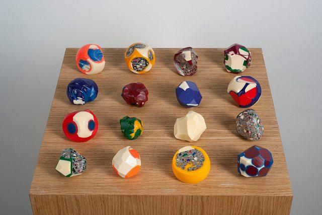 , 'Billiard balls,' 2014, the Goma