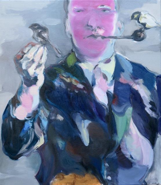 Simona Deflorin, 'Der Dompteur', 2016, Painting, Oil on Canvas, Lakeside Gallery
