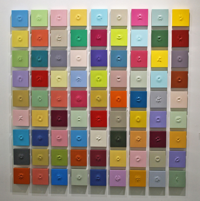 , '81 Colorful Ani (The Large Array),' 2018-2019, LeMieux Galleries