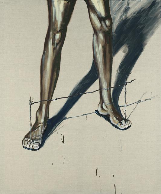 , 'Gelehrtenbeine, Goal- Balance on the Beach,' 2015, Artdepot