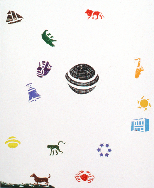 , 'Animal Music for the Spheres,' 1996, Crown Point Press
