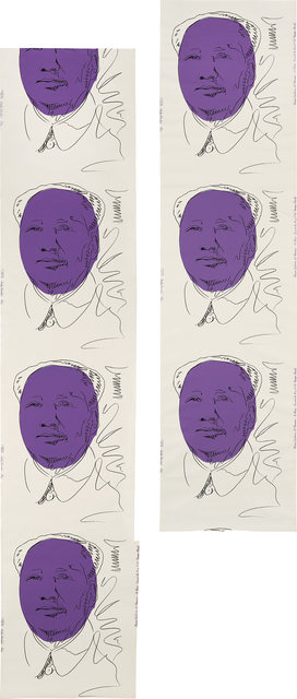 Andy Warhol, 'Mao (wallpaper), two rolls', 1974, Phillips