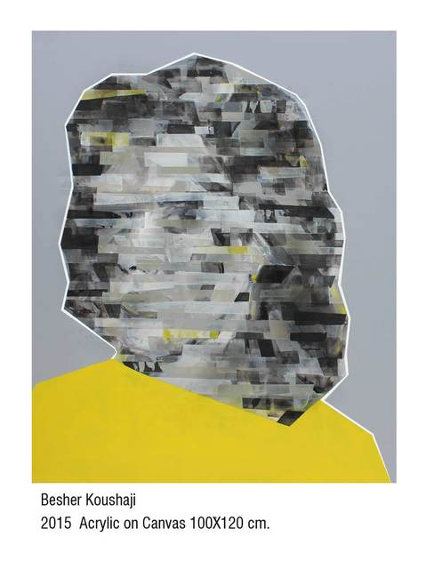 , 'Wujuh min al- thakira (Yellow),' 2015, Wadi Finan for Arts