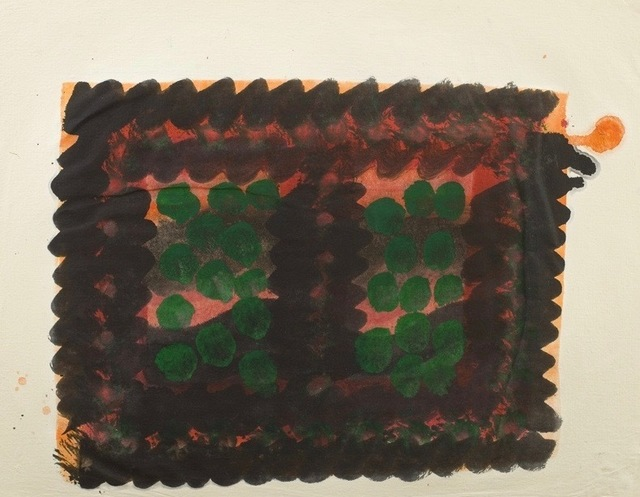 , 'Window (Indian Leaves),' 1978, Piano Nobile