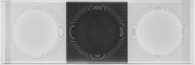 Hector Ramirez, '3 Esferas de Nucleo Radiante', 2015, Galería RGR
