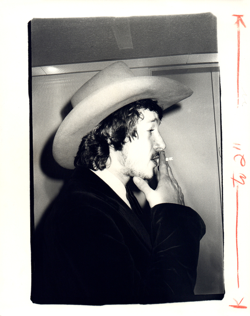 Andy Warhol, 'Andy Warhol, Photograph of a Man in a Cowboy Hat Smoking, 1970s', 1970s, Hedges Projects