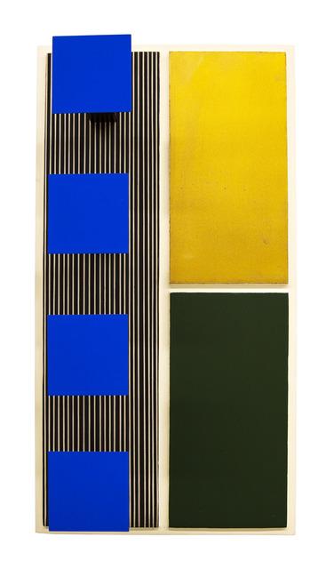 Jesús Rafael Soto, 'Azul, Dorado y Oliva ', 1969, Gary Nader
