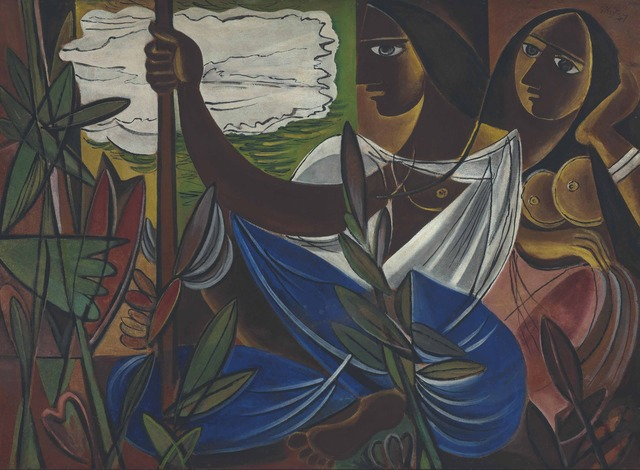 , 'Untitled (Two Women amid Plants),' 1947, Dag Modern