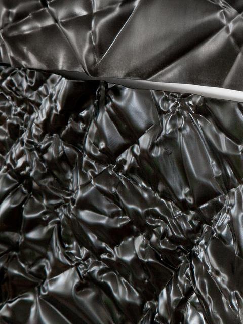 Christopher Prinz, 'Wrinkled Tiles', 2018, Sculpture, Black oxide plated steel, Patrick Parrish Gallery