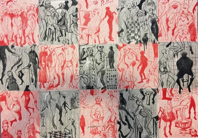 , 'FETARDS,' 2018, LouiSimone Guirandou Gallery