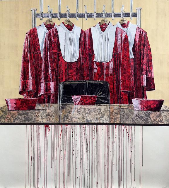 , 'Abgelegt und Aufgehangen,' 2013, Anton Kern Gallery