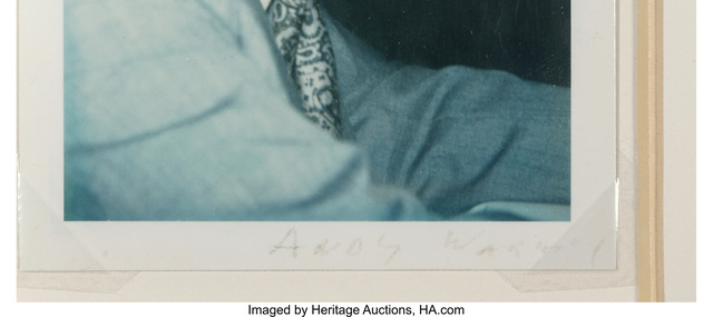 Andy Warhol, 'Art Paul', Photography, Polaroid, Heritage Auctions
