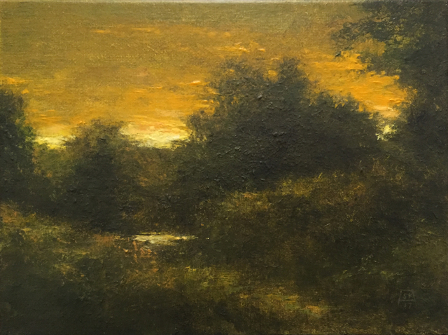 , 'Late Summer Sunset: Black Marsh,' 2017, Abend Gallery