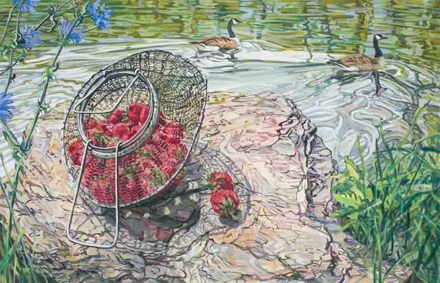 , 'Strawberries, Geese,' 2006, DC Moore Gallery