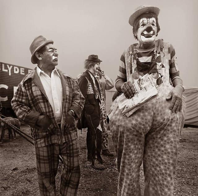 , 'Four Clowns,' 1979, Jacob Babchuk Gallery