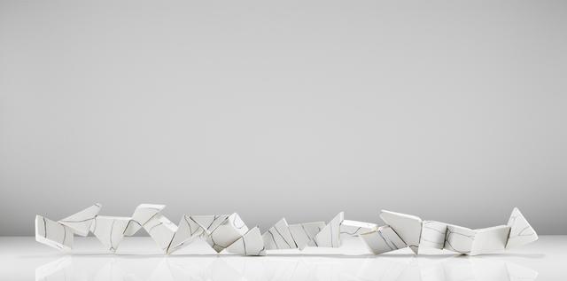 Fernando Casasempere, 'Broken Line', 2017, Parafin