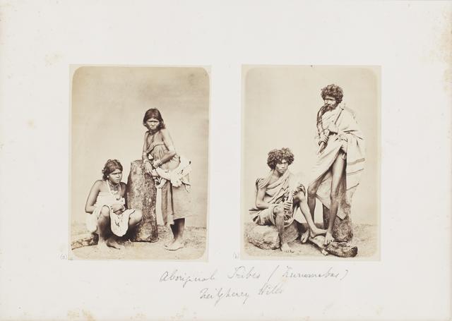 , ' Kurrumba, Indigenous Tribes from Nilgiri Hills,' c.1850-59, Sarmaya