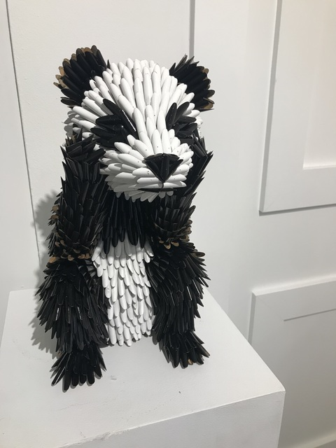 , 'Baby Panda (pencils),' 2019, Adelson Galleries