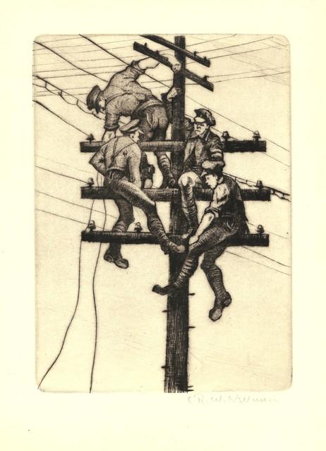 , 'Nerves of an Army,' 1918, Osborne Samuel