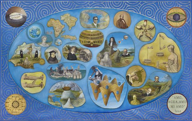 , 'Historia del Positivismo Mágico,' 2015, 80M2 Livia Benavides