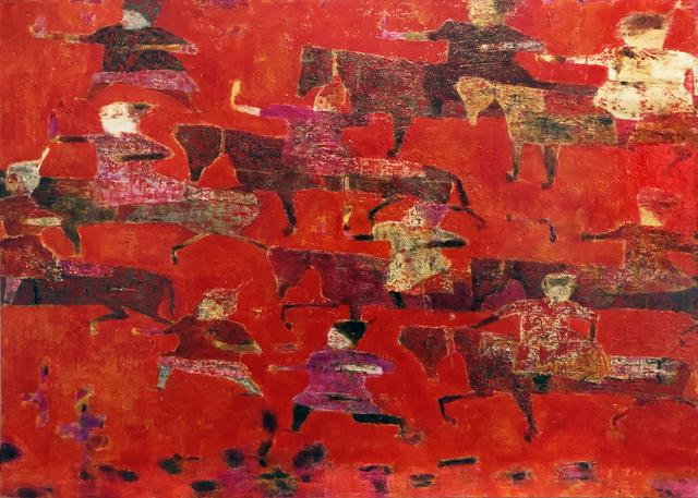 , 'Red Hunt,' 2019, Podgorny Robinson Gallery