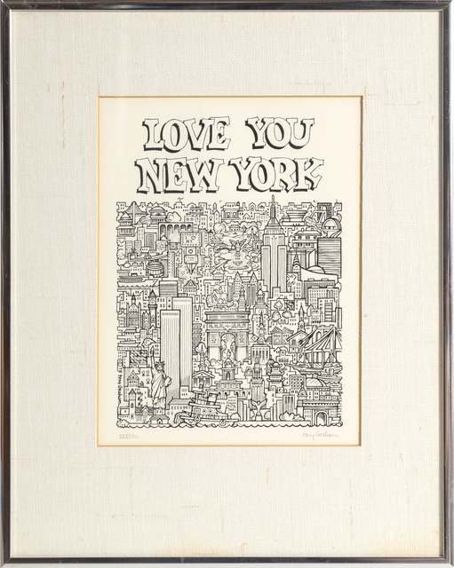 Tony Graham, 'Love You, New York', 1978, RoGallery