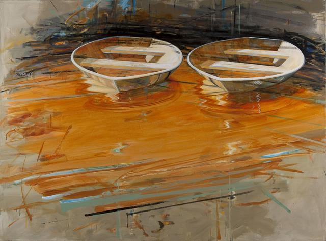 , 'Two Pirogues II,' 2014-2015, Cross Mackenzie Gallery