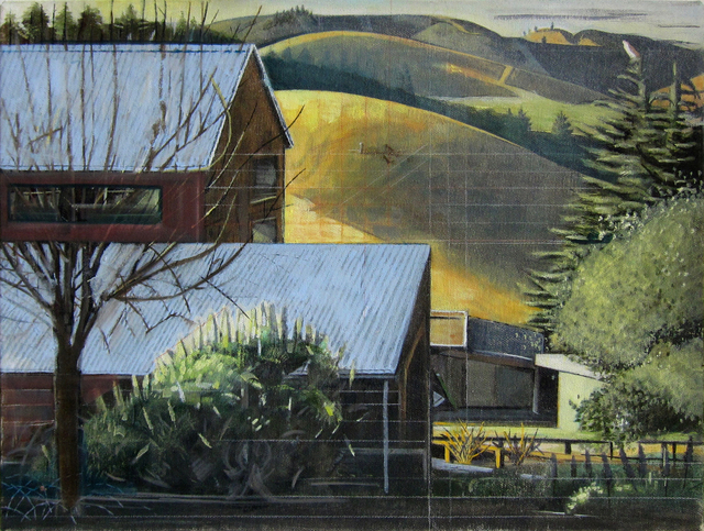 , 'Morning Light (Studio and Hills),' , Gail Severn Gallery