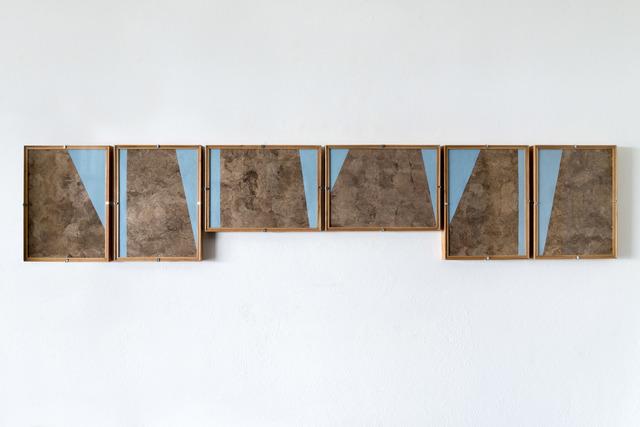 Dario Escobar, 'Composiciones Azules No.6', 2016, Aspen Art Museum Benefit Auction