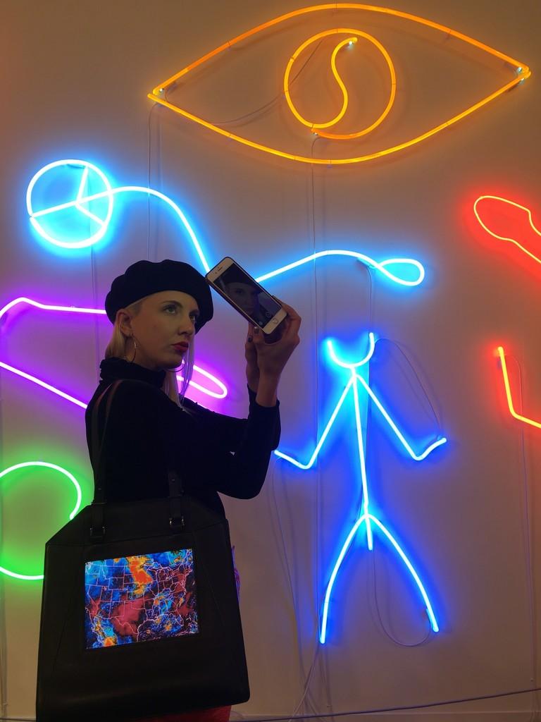 Signe Pierce, Performance at Frieze London, Annka Kultys Gallery 2017