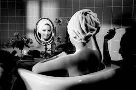 , 'Barbra in the bathtub,' 1974, Lumiere Brothers Gallery
