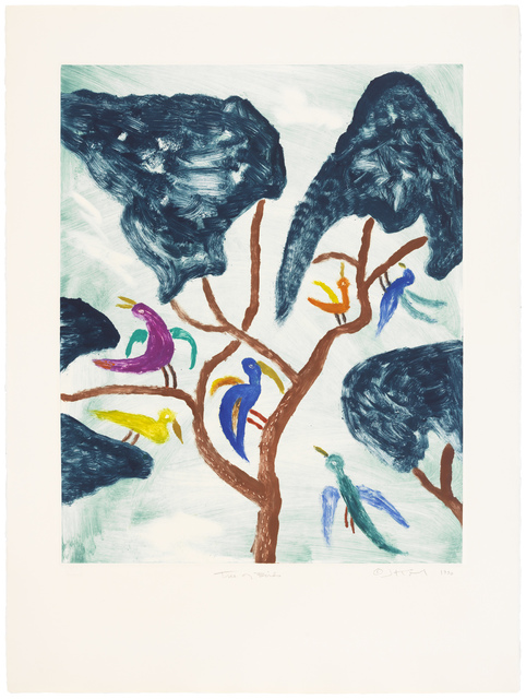 , 'Tree of Birds,' 1990, Gallery NAGA
