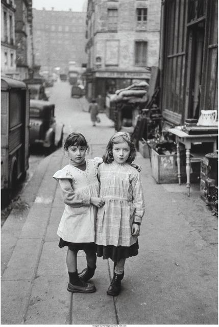Edouard Boubat, 'Deux Fillettes', 1952, Heritage Auctions