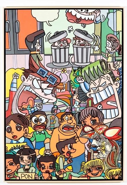 , 'Manga Picasso Nr. 3,' 2012, Galerie Ernst Hilger