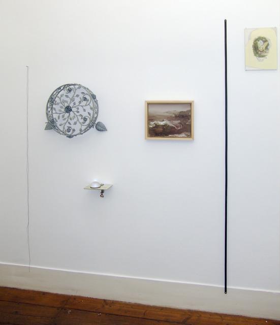, 'Desenho com linhas verticais (e lá em baixo fica iluminada a sombra),' 2014, Vera Cortês
