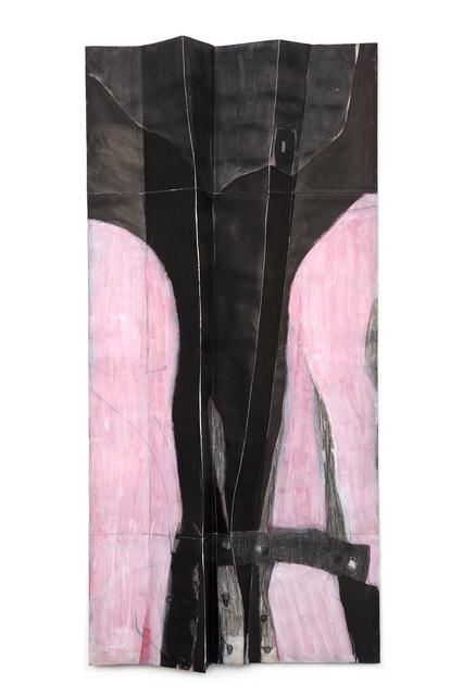 ", '""Rosa-noir""/The Folds Series,' 2014, The Merchant House"