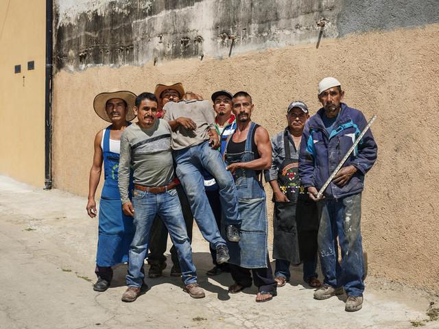 Pieter Hugo, 'After Siqueiros, Oaxaca de Juárez', 2018, Yossi Milo Gallery