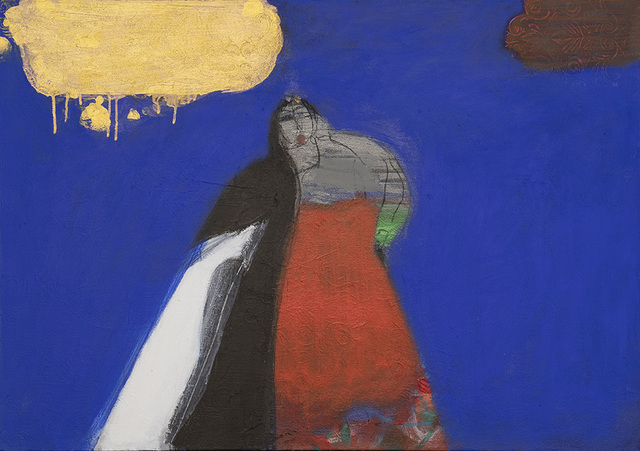 Salman Al Malik, 'Golden cloud / سحابة ذهبية', 2017, al markhiya gallery
